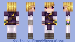Zelda from Legend of Zelda Clockwork Empire Minecraft Skin