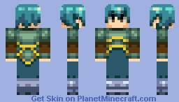 Yet another Unnamed Knight(?) Minecraft Skin