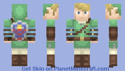 Link - Twillight Princess Minecraft Skin