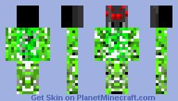 Spider creeper Minecraft Skin