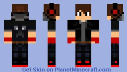 red boy 2 Minecraft Skin