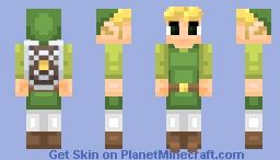 Toon Link (Alternate colors in desc.) Minecraft