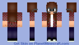 Munchingbrotato girl :D Minecraft Skin