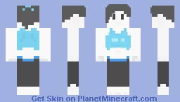 """Wii Fit Female Trainer"" Minecraft Skin"