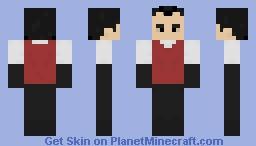 Wilson - Don't Starve Minecraft Skin