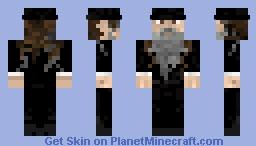 Orthodox Jewish Man skin Minecraft