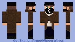 Aiden Pearce (Watch_Dogs) Fixes Minecraft Skin