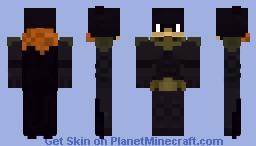 Batgirl (1.8) Minecraft Skin