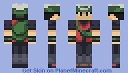 Brendan From Pokemon Emerald Minecraft Skin