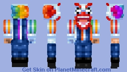 Clownmare! 18th Place! Minecraft Skin