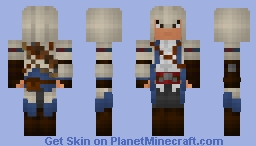 Connor Kenway 1.8 requested by GIJoeyMC Minecraft Skin