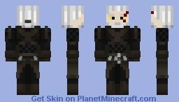 Geralt of Rivia (Witcher 3)/Geralt z Rivii (Wiedźmin 3) Minecraft Skin