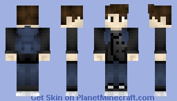Peter Parker The Amazing SpiderMan Minecraft Skin - Skins para minecraft pe de spiderman