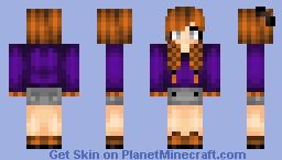 ♥~rere~♥ Happy Halloween Minecraft Skin