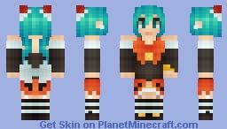 *Яเภภเє~* Halloween Miku~ :3 Minecraft Skin