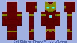 Iron Man (Superhero Smash) Minecraft Skin