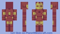 Deactivated Iron Man - PBL-S6 W2 Minecraft