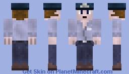 Mike Schmidt the Security Gaurd ~FNAF~ Minecraft Skin