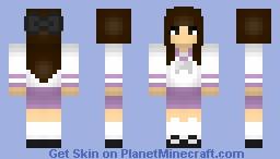 Seifuku Girl Minecraft Skin