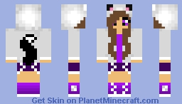 Purple Cat Girl