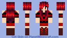 ~Pingu~ Devil Girl Minecraft Skin