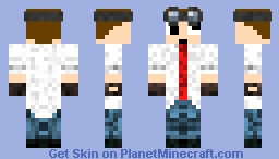 Professor guy Minecraft Skin