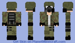 Wasteland Survivor Minecraft Skin