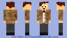The Doctor (Eleventh Regeneration) [Alex Skin Format] Minecraft Skin