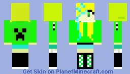 Blonde Beauty Minecraft Skin
