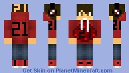21 Hoodie Minecraft Skin
