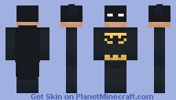Batman (Simple Skin Series) Minecraft Skin