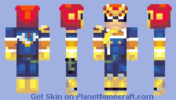 Captain Falcon Minecraft Skin