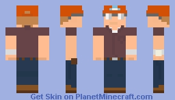 """Dale Gribble"" Minecraft Skin"