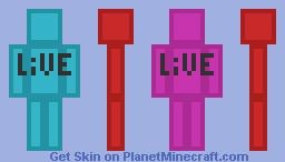 LiVE Minecraft Skin