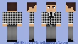 Fallout: Benny Minecraft Skin