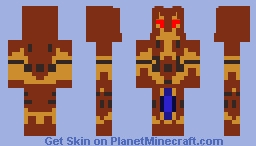 For Their Entertainment. Minecraft Skin