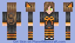 Happy Halloween! ^_^ Minecraft Skin