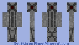 Industrial Robot (I'm back!) Minecraft Skin