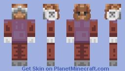 The Harrowing Mask Minecraft Skin