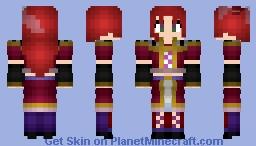 Namine Ritsu (Vippaloid/UTAU) Minecraft Skin