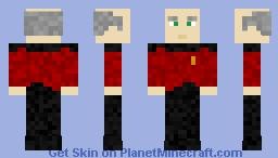 Captain Jean-Luc Picard - Star Trek ~Ὠκεαν~ Minecraft Skin