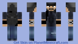 Raymond Kenney/AKA. T-Bone (Watch Dogs Minecraft Skin