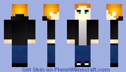 Redd - VertexMC ADV Character HD Smooth skin. Minecraft Skin