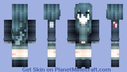 °lǝıɔ° Samemi (Samekichi) - Wadanohara and the Great Blue Sea Minecraft Skin