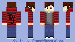 Jasper Skin Re-Done (New Shading Tech) Minecraft Skin