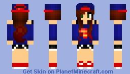 SuperWoman - Great Graphics Minecraft Skin