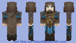 Shadow of Mordor - Talion (Dark Ranger) Minecraft Skin