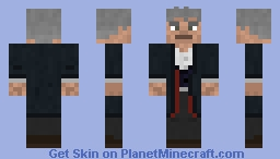 The 12th Doctor [Doctor Who Skins] Minecraft Skin