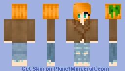 Winter Cute Girl!! Minecraft Skin