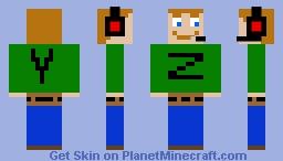 Chop3 Minecraft Skin